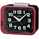 SEIKO 日本精工 夜光 滑動式秒針 響鈴鬧鐘(QHK028R)紅/9.4X11cm product thumbnail 1
