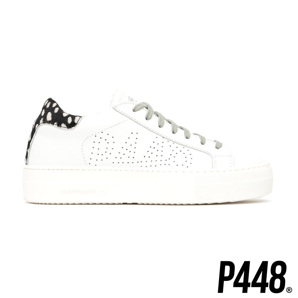 P448-Thea休閒真皮厚底鞋-豹紋