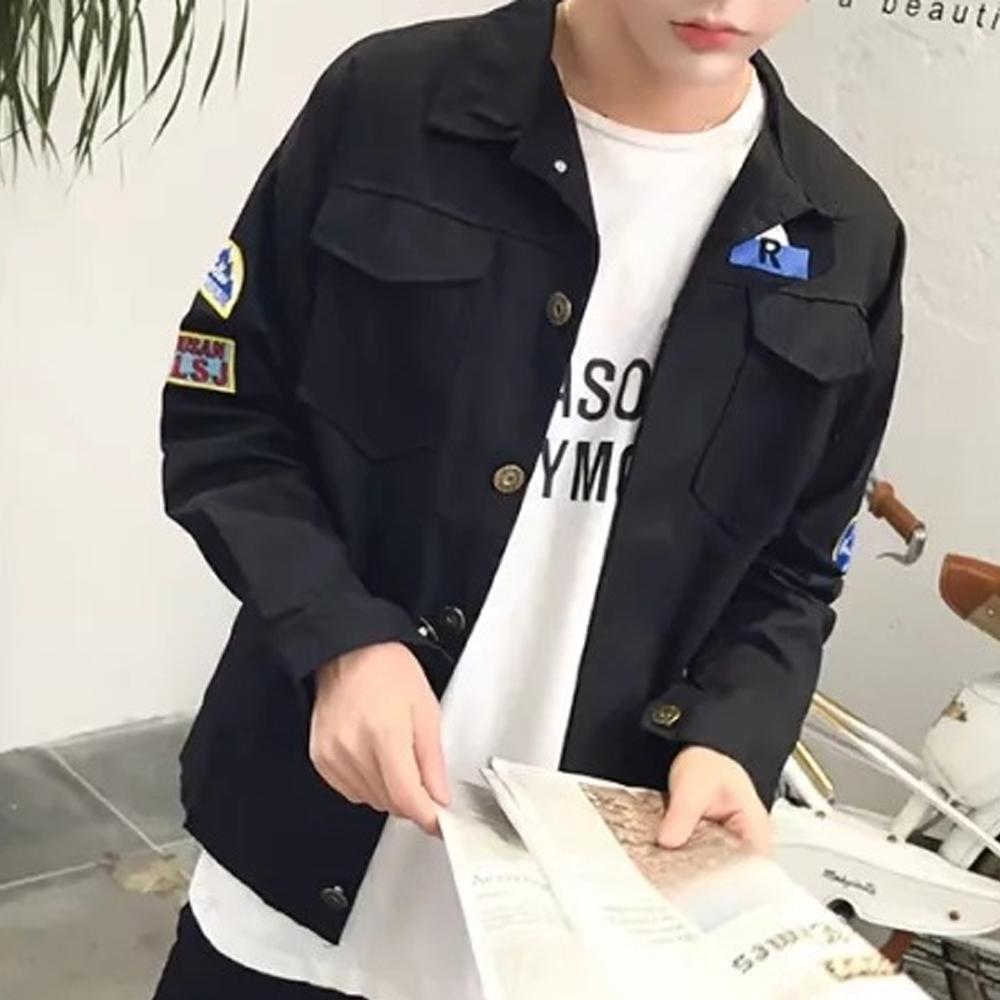 BuyGlasses 韓感手臂徽章夾克外套