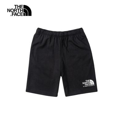 The North Face北面男款黑色舒適透氣運動休閒短褲|4U9NJK3