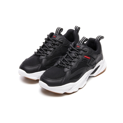 FILA BEATS TRACER 2 男慢跑鞋-黑 1-J526V-012