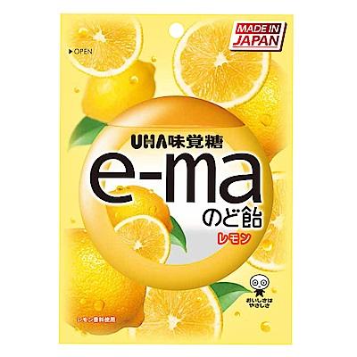 味覺糖 e-ma喉糖-檸檬味(50g)