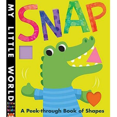 Snap A Peek-Through Book Of Shapes 啪!尋找形狀硬頁書
