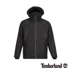 (VIP)Timberland 男款黑色防水保暖風衣外套 A1ZPQ