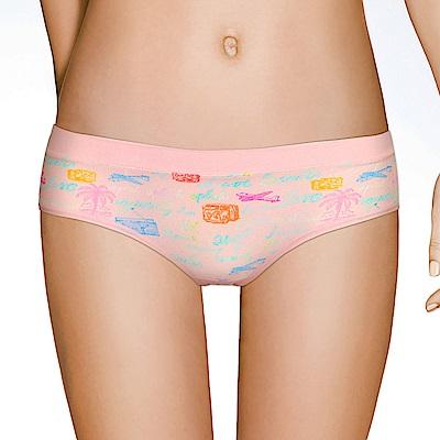 sloggi-Adventure 繽紛樂冒險系列 平口內褲M-EL(粉紅)