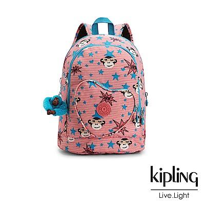 Kipling 後背包 星星眨眼猴-中