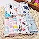 colorland【12入】嬰幼兒純棉口水巾寶寶針織棉手帕印花小方巾 product thumbnail 2
