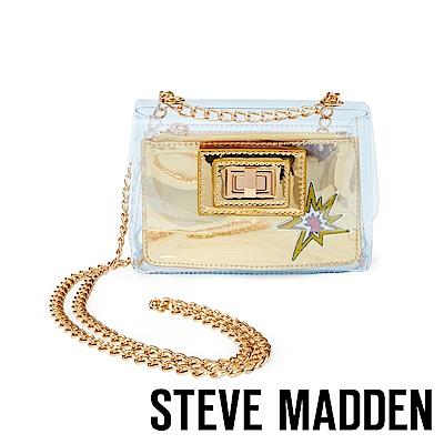 STEVE MADDEN-BGENEVA 玩趣派對果凍迷你透明隨身包-銅色