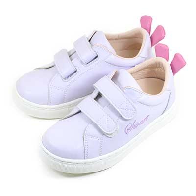 Swan天鵝童鞋-兔子小耳朵中童休閒鞋3863-紫