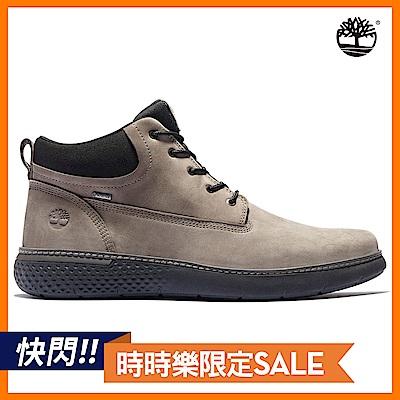 [限時]Timberland 男款中棕色絨面革GORE-TEX休閒中筒靴|A42XH