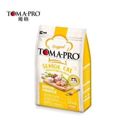 TOMA-PRO優格 高齡貓高纖低脂配方(雞肉+米) 1.5kg