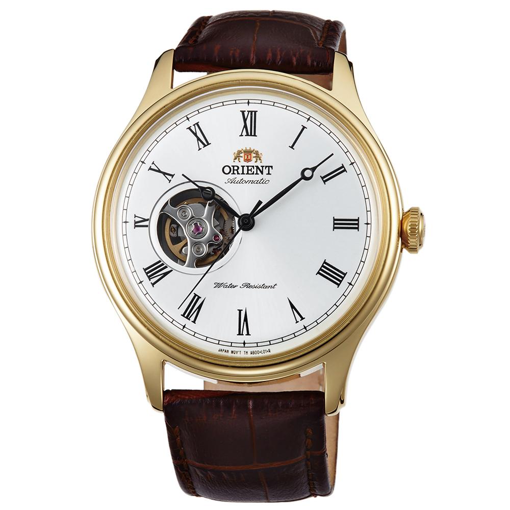 ORIENT東方錶 宏觀世界手動上鍊鏤空機械錶(FAG00002W0)-白x42.5mm