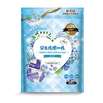 奇檬子五合一白金香氛洗衣膠球-藍風鈴15顆入* 6包