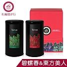 (雙11特惠)DODD Tea杜爾德 嚴選東方美人+碧螺春茶葉禮盒(75g各1)
