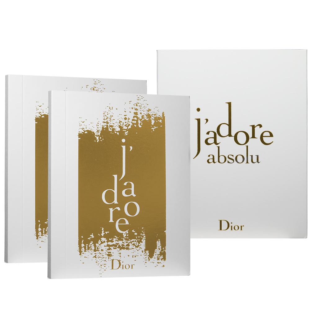 Dior迪奧J Adore absolu精萃筆記本*2