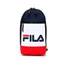 FILA LOGO單肩後背包-紅藍白 BPT-5003-NV