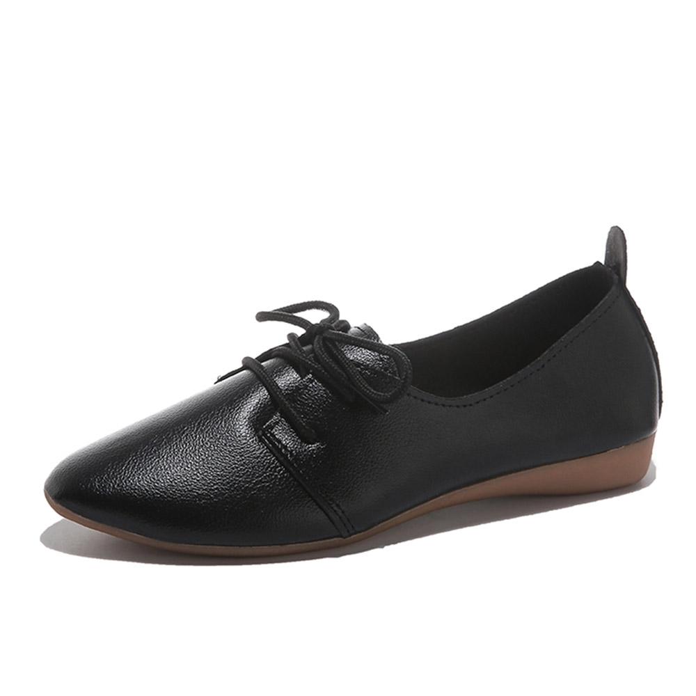 KEITH-WILL時尚鞋館-獨賣晴雨帥氣低筒皮鞋(通勤鞋/皮鞋)(共3色) (黑色)