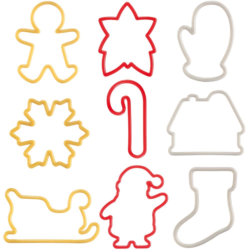 《TESCOMA》餅乾模9件(聖誕)
