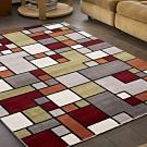 范登伯格 - 薇拉 現代地毯 - 彩方塊 (160 x 230cm)