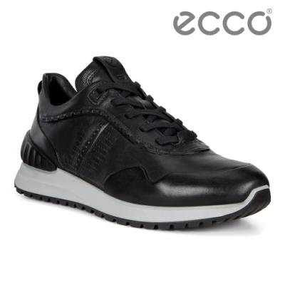 ECCO ASTIR 雅躍型男運動休閒鞋 男鞋 黑色