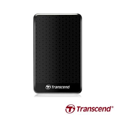 創見 StoreJet 25A3 2.5吋 1TB USB3.1 Gen1 行動硬碟(黑)