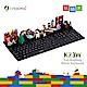 福利品-i-Rocks-K23W-趣味積木鍵盤-黑