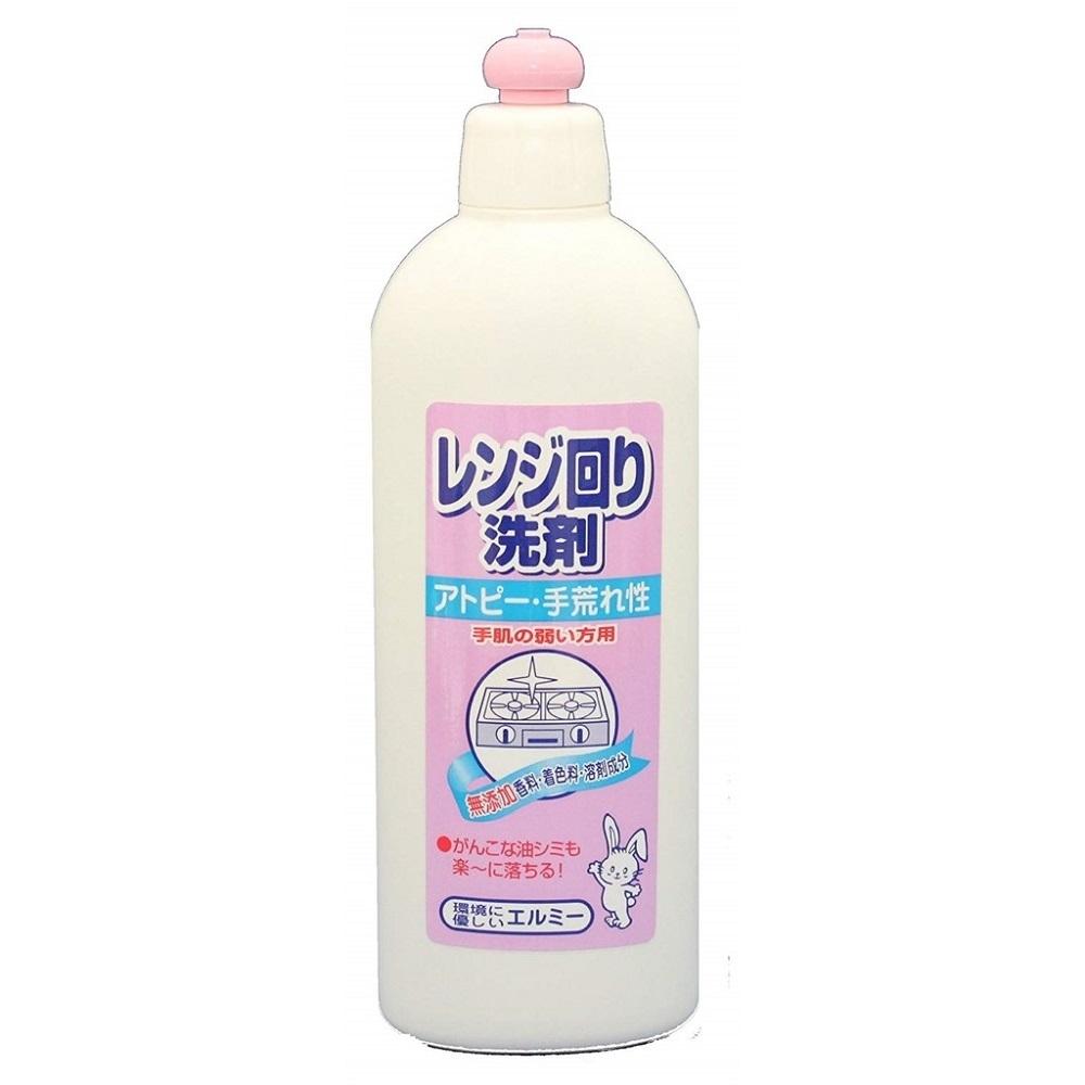 日本品牌【愛兒美Elmie】廚房爐具清潔劑