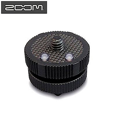 日本ZOOM熱靴轉接座HS-1(將Hot Shoe熱靴座轉成公1/4 螺絲公螺牙,用來裝指向麥克風MIC液晶顯示器 )