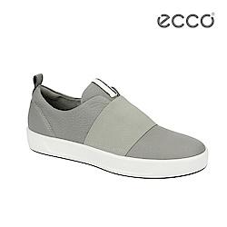 ECCO SOFT 8 LADIES 簡約休閒鞋-灰