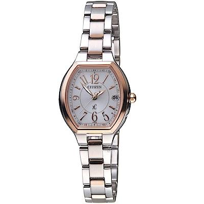 CITIZEN xC 小酒桶電波腕錶( ES9364-57A)
