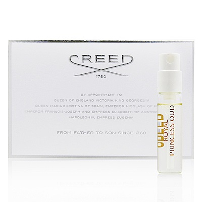 CREED  Royal Princess Oud 鳶尾公主女性香精 2.5ml