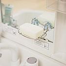 完美主義 不鏽鋼吸盤肥皂架-2入組