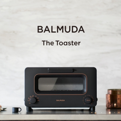 BALMUDA The Toaster 蒸氣烤麵包機 (黑) K05C-BK