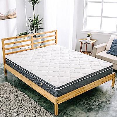 AVIS 艾維斯 傾城之戀天絲三線獨立筒床墊-雙人加大6尺