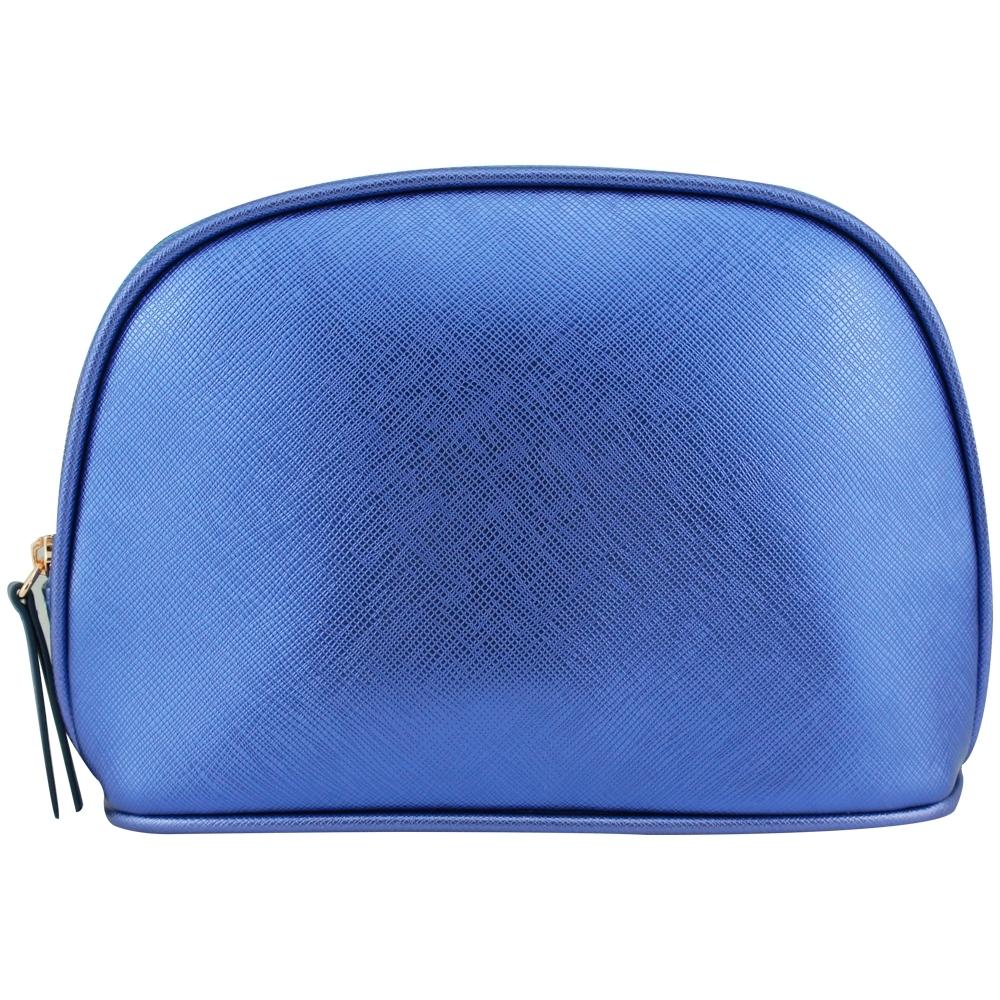 LA MER海洋拉娜 藍色壓紋化妝包