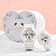 CASIO 卡西歐 G PRESENTS LOVERS COLLECTION 2020 限量天使與惡魔 情人對錶-白 LOV-20A-7A product thumbnail 1