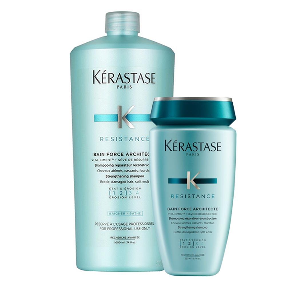 *Kerastase卡詩 煥髮重建髮浴買大送小(1000ml+250ml)