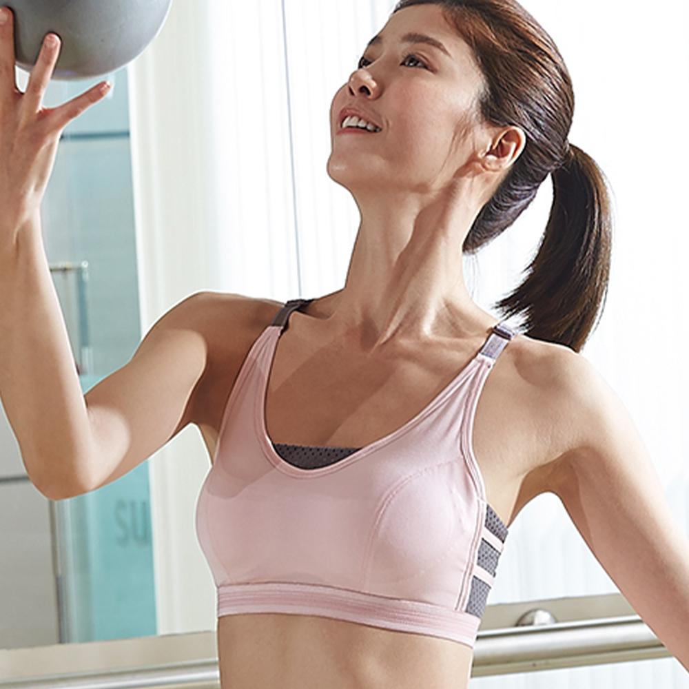 蕾黛絲-LadieSport好運動-Level3-釋壓背心 M-EEL 活力粉