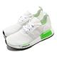 adidas 休閒鞋 NMD R1 襪套式 男女鞋 愛迪達 三葉草 Boost底 緩震 穿搭 白 綠 FX3096 product thumbnail 1
