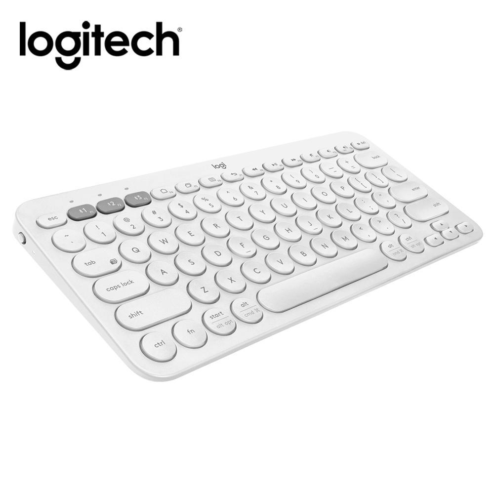 羅技 K380多工藍芽鍵盤(珍珠白)