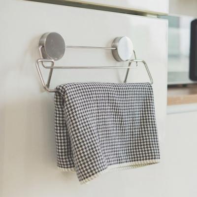 完美主義 毛巾架/不鏽鋼/吸鐵式-32x6.5x13cm