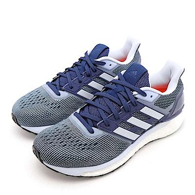 ADIDAS-SUPERNOVA W女跑步鞋-藍色