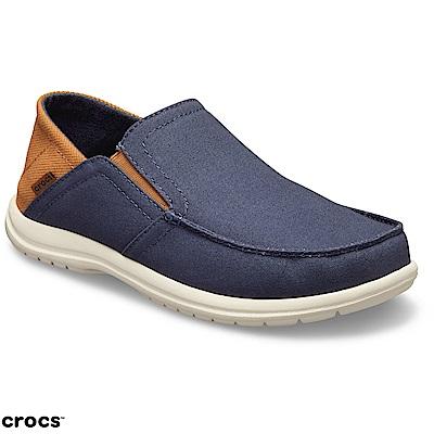 Crocs 卡駱馳 (男鞋) 聖克魯茲敞篷便鞋 204834-4R9