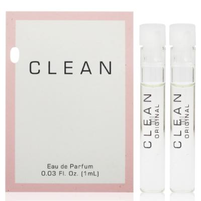 CLEAN ORIGINAL 清新同名女性淡香精針管 1ml * 2入