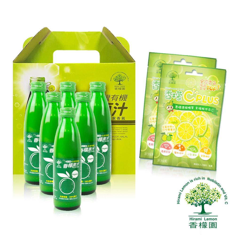 香檬園 台灣原生種有機香檬原汁6入 C糖優惠組 @ Y!購物