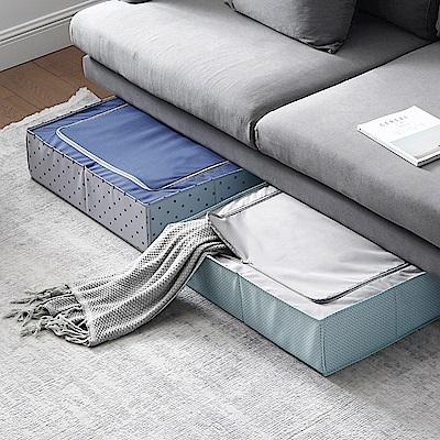 日系風格布藝床底抽屜式收納箱-3種款式任選