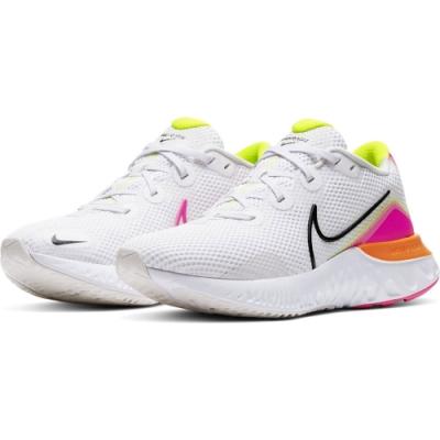NIKE 運動鞋 輕量 避震 慢跑 女鞋  白粉 CK6360005 WMNS NIKE RENEW RUN