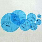 可樂牌 圓形製圖輔助板