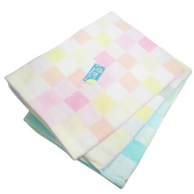 3入組 彩色格紋純棉浴巾-2028/長頸鹿純棉浴巾-2139