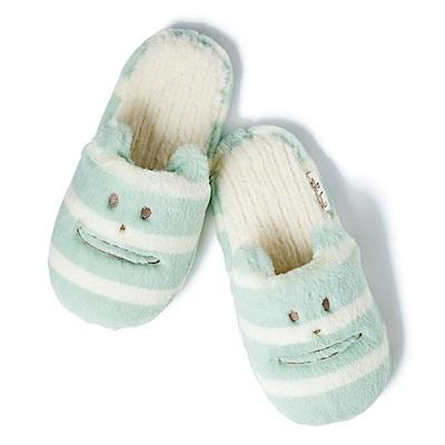 CRAFTHOLIC宇宙人 安睡清新貓室內拖鞋
